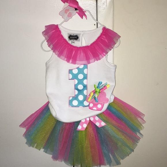 Super Cute 1st Birthday Outfit M 5aca46b1077b97ebd8282848